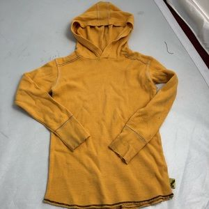 Charlie Rocket yellow hooded thermal